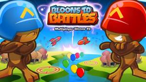 iPhone、iPadアプリ「Bloons TD Battles」のスクリーンショット 1枚目