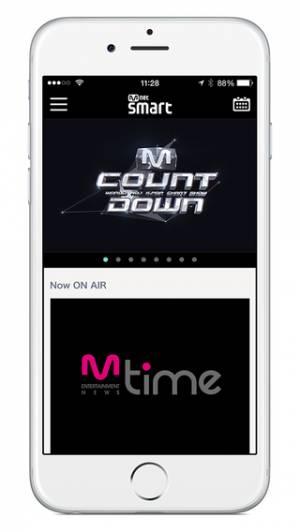 iPhone、iPadアプリ「Mnet Smart」のスクリーンショット 2枚目