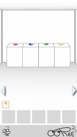 iPhone、iPadアプリ「絶対に押してはいけないボタン4 -脱出ゲーム-」のスクリーンショット 3枚目