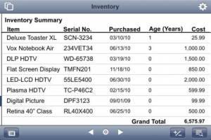 iPhone、iPadアプリ「FileMaker Go 11 for iPhone」のスクリーンショット 4枚目