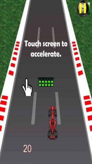 iPhone、iPadアプリ「フォーミュラレーシングプロ - スピードは中毒性があります」のスクリーンショット 1枚目