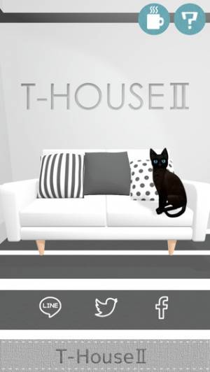 iPhone、iPadアプリ「脱出!T-HOUSE 2」のスクリーンショット 1枚目