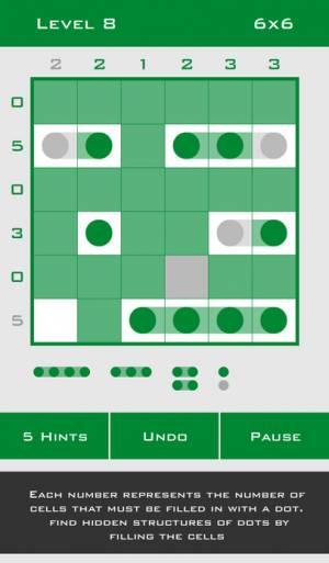iPhone、iPadアプリ「Logic Dots」のスクリーンショット 2枚目