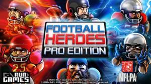 iPhone、iPadアプリ「Football Heroes: Pro Edition」のスクリーンショット 1枚目