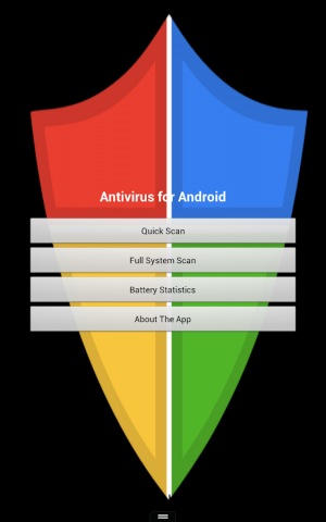 Androidアプリ「Antivirus for Android」のスクリーンショット 1枚目