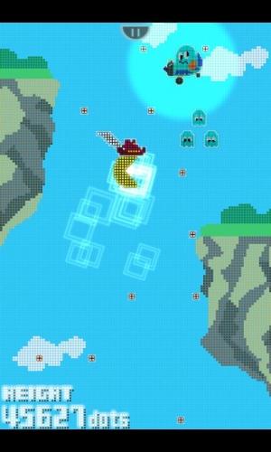 Androidアプリ「PAC'N-JUMP」のスクリーンショット 2枚目