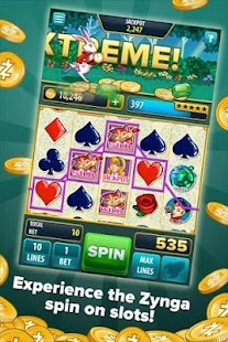 Androidアプリ「Slots by Zynga」のスクリーンショット 1枚目
