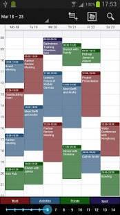 「Business Calendar Pro(カレンダー)」のスクリーンショット 2枚目