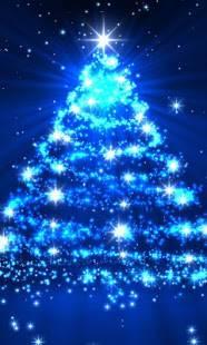 「きらびやかなクリスマスライブ壁紙」のスクリーンショット 1枚目