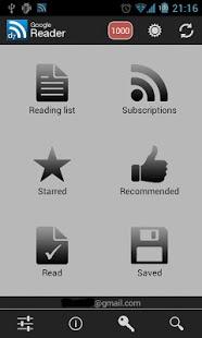 「D7 Reader Pro (RSS   News)」のスクリーンショット 1枚目