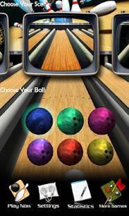 「ボウリング 3D Bowling」のスクリーンショット 1枚目