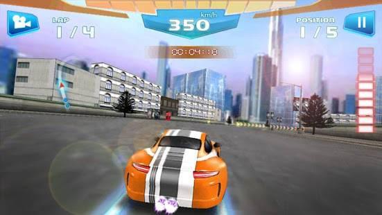 「ファストレーシング3D - Fast Racing」のスクリーンショット 3枚目