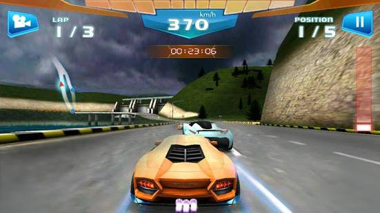 「ファストレーシング3D - Fast Racing」のスクリーンショット 1枚目