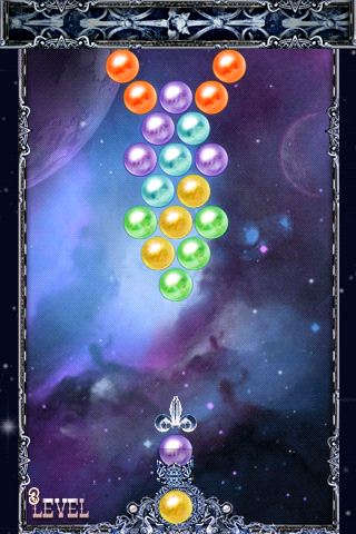 「バブルシュート - Shoot Bubble」のスクリーンショット 1枚目