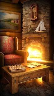 「My Log Home 3D Live wallpaper」のスクリーンショット 1枚目