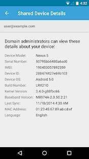 「Google Apps Device Policy」のスクリーンショット 1枚目