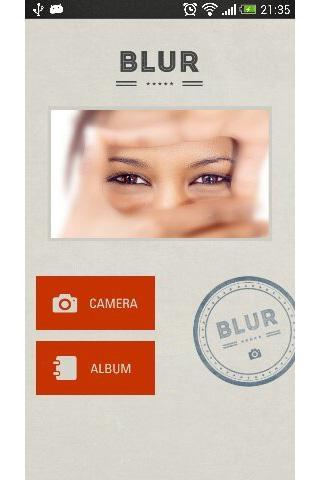 「画像を自動で「ぼかし」指でなぞった部分が元に戻る-BLUR-」のスクリーンショット 1枚目