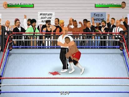 「Wrestling Revolution」のスクリーンショット 3枚目