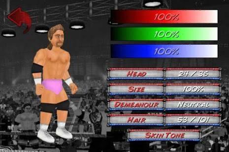 「Wrestling Revolution」のスクリーンショット 2枚目