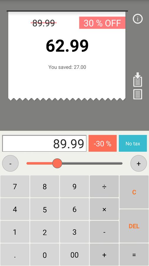「Discount Calculator」のスクリーンショット 2枚目
