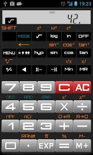 「Scientific Calculator」のスクリーンショット 3枚目