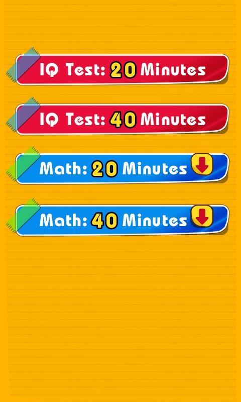 「IQテスト [図形・論理パズル / 知能指数測定]」のスクリーンショット 2枚目