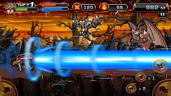 「魔界の忍者2」のスクリーンショット 1枚目