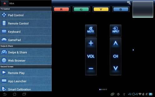 「Panasonic TV Remote 2」のスクリーンショット 2枚目