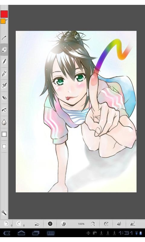 「TAB PAINT for Android」のスクリーンショット 1枚目