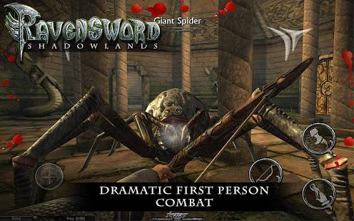 「Ravensword: Shadowlands 3d RPG」のスクリーンショット 3枚目