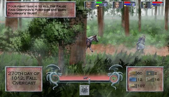 「Tales of Illyria:Fallen Knight」のスクリーンショット 1枚目