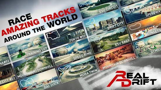 「Real Drift Car Racing Lite」のスクリーンショット 2枚目
