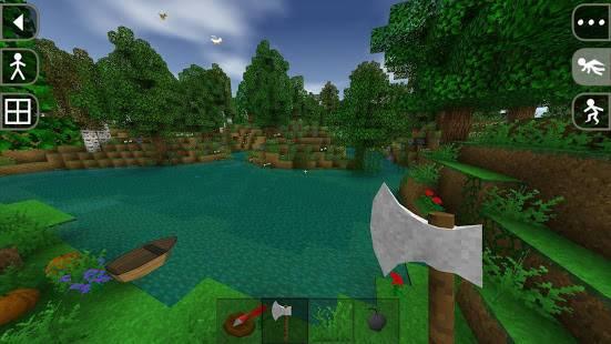 「Survivalcraft Demo」のスクリーンショット 1枚目