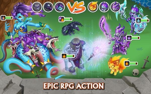 「Knights & Dragons - Action RPG」のスクリーンショット 1枚目
