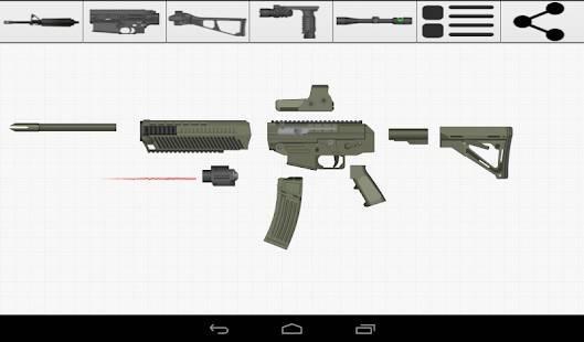 「Weapon Builder Pro」のスクリーンショット 3枚目