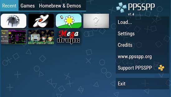 「PPSSPP - PSP emulator」のスクリーンショット 1枚目