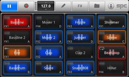 「SPC音楽ドラム·パッドのデモ」のスクリーンショット 1枚目
