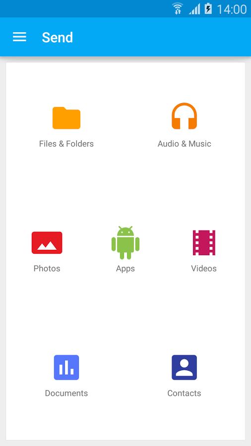 「SuperBeam | WiFi Direct Share」のスクリーンショット 2枚目