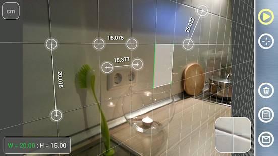 「Partometer3Dカメラのメジャー3D」のスクリーンショット 3枚目