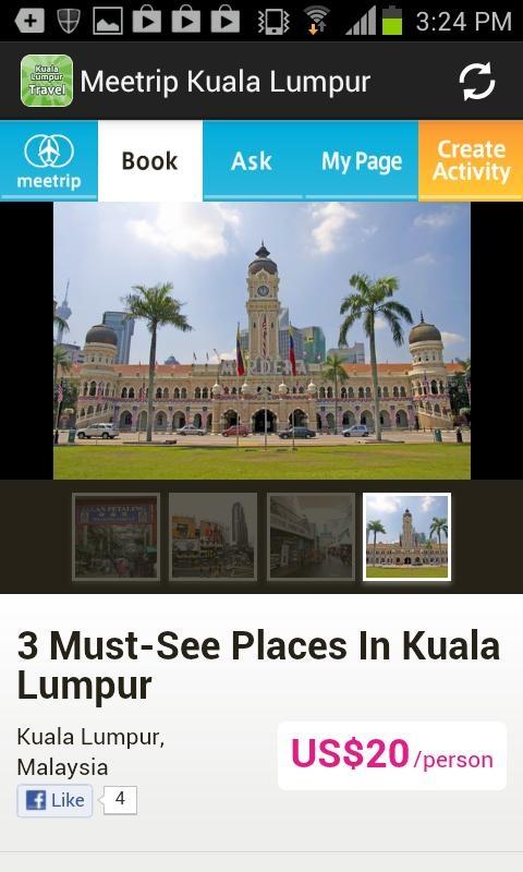 「マレーシア旅行ガイド:クアラルンプール地元オススメ観光ツアー」のスクリーンショット 2枚目