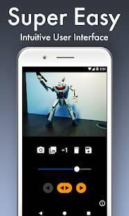 「GIFMob - 簡単なストップモーションアニメーションカメラ」のスクリーンショット 3枚目