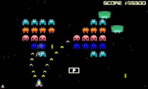 「Space Intruders」のスクリーンショット 2枚目