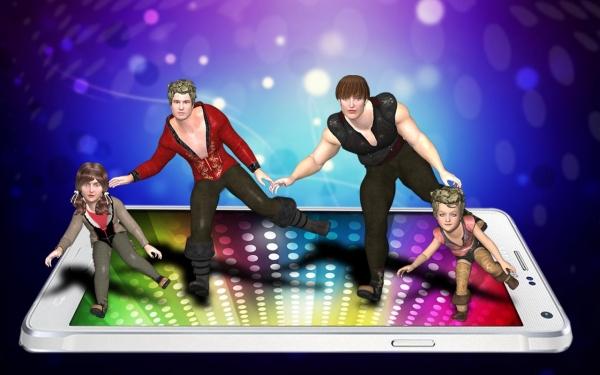 「楽しい2014ジャストダンス用iDance」のスクリーンショット 2枚目