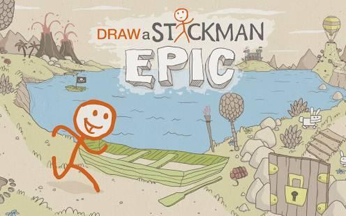「Draw a Stickman: EPIC」のスクリーンショット 1枚目