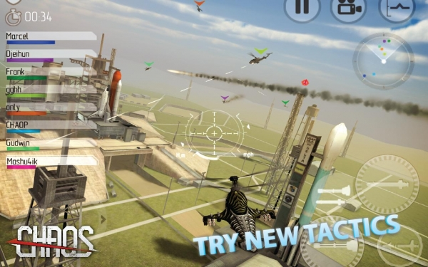 「CHAOS 戦闘ヘリコプター 3D」のスクリーンショット 2枚目