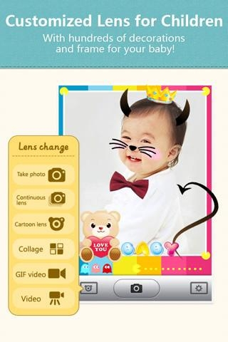 「POCO Baby Camera - Kids Album」のスクリーンショット 3枚目
