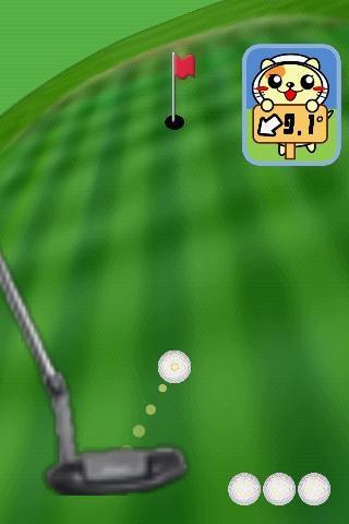 「パターゴルフにゃ2」のスクリーンショット 2枚目