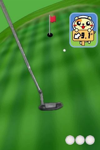 「パターゴルフにゃ2」のスクリーンショット 3枚目