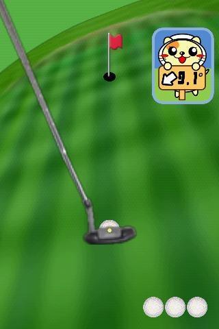 「パターゴルフにゃ2」のスクリーンショット 1枚目