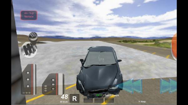 「Stunt Car Driving 3D」のスクリーンショット 1枚目